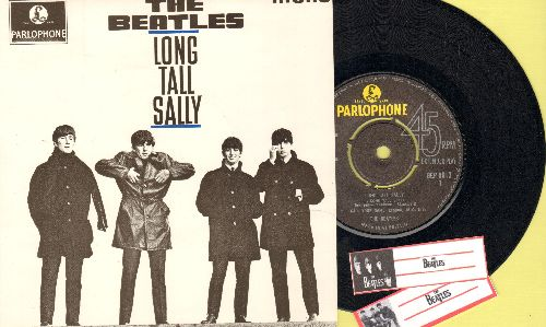 Beatles - Long Tall Sally/I Call Your Name/Slow Down/Matchbox (vinyl EP record with picture cover, British Pressing) - NM9/NM9 - 45 rpm Records