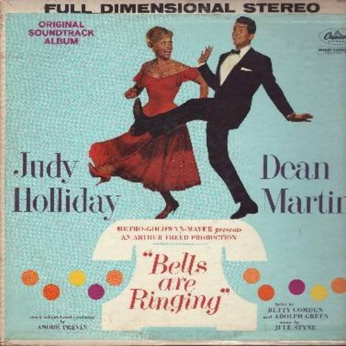 Holiday, Judy, Dean Martin - Bells Are Ringing - Original Motion Picture Sound Track (Vinyl STEREO LP record) - NM9/VG7 - LP Records