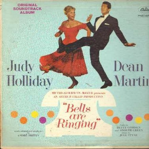 Holliday, Judy, Dean Martin - Bells Are Ringing - Original Motion Picture Sound Track (Vinyl MONO LP record) - EX8/VG7 - LP Records