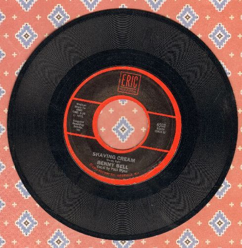 Bell, Benny - Shaving Cream/In Heaven There Is No Beer (by Clean Living on flip-side) - EX8/ - 45 rpm Records