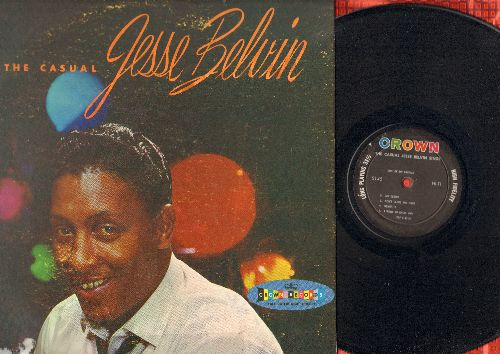 Belvin, Jesse - The Casual Jesse Belvin: Goodnight My Love, Sentimental Reasons, Girl Of My Dreams, Senorita, My Desire (vinyl MONO LP record) - EX8/VG7 - LP Records