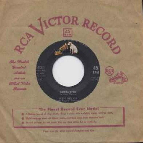 Belvin, Jesse - Guess Who/My Girl Is Just Enough Woman For Me (with RCA company sleeve) - EX8/ - 45 rpm Records