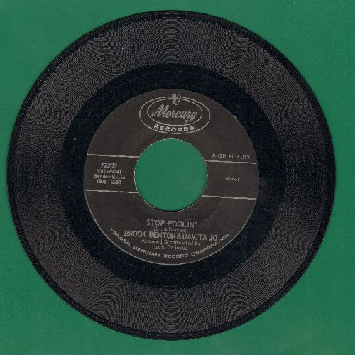 Benton, Brook & Damita Jo - Stop Foolin'/Baby You've Got It Made - EX8/ - 45 rpm Records
