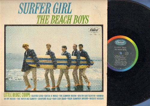 Beach Boys - Surfer Girl: Little Deuce Coupe, In My Room, Boogie Woogie (Vinyl MONO LP record) - VG6/VG6 - LP Records