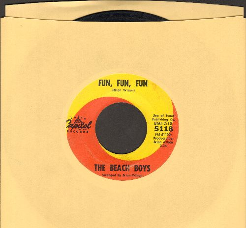 Beach Boys - Fun, Fun, Fun/Why Do Fools Fall In Love  - EX8/ - 45 rpm Records