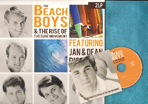 Beach Boys, Jan & Dean, Dick Dale & The Del-Tones - The Beach Boys & The Rise Of The Surf Movement - Featuring Jan & Dean, Dick Dale & The Del-Tones (LIMITED EDITION 180 gram Virgin Vinyl 2-LP record set with BONUS CD featuring 25 vintage Surf recordings,