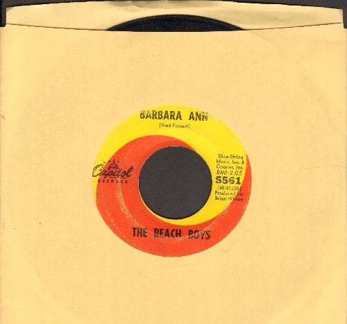 Beach Boys - Barbara Ann/Girl Don't Tell Me  - VG7/ - 45 rpm Records