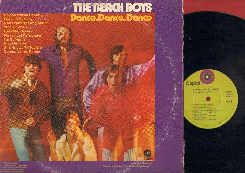 Beach Boys - Dance, Dance, Dance: Do You Wanna Dance?, Help Me Rhonda, When I Grow Up, Good To My Baby (Vinyl STEREO LP record) - NM9/VG6 - LP Records