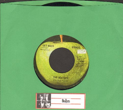Beatles - Get Back/Don't Let Me Down - VG7/ - 45 rpm Records