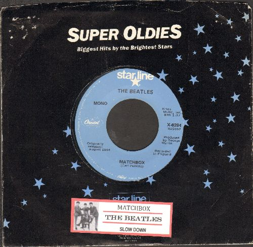 Beatles - Matchbox/Slow Down (re-issue with juke box label and Capitol company sleeve) - VG7/ - 45 rpm Records