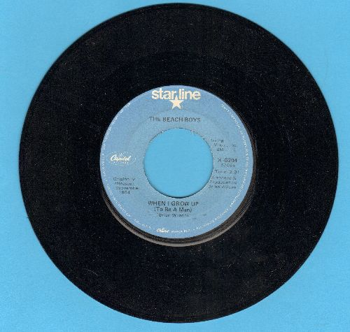 Beach Boys - When I Grow Up (To Be A Man)/She Knows Me Too Well (re-issue) - NM9/ - 45 rpm Records
