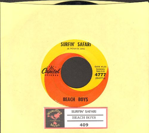 Beach Boys - Surfin' Safari/409 (with juke box label) - VG7/ - 45 rpm Records