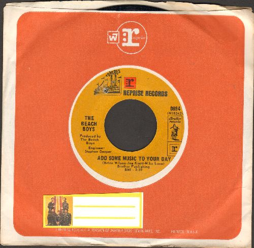 Beach Boys - Add Some Music To Your Day/Susie Cincinnati (with Reprise company sleeve) (bb) - NM9/ - 45 rpm Records