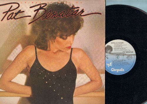 Benatar, Pat - Crimes Of Passion: Treat Me Right, You Better Run, Hit Me With Your Best Shot, Hell Is For Children (Vinyl LP record) - NM9/EX8 - LP Records