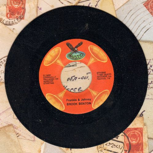 Benton, Brook - Frankie & Johnny/The Boll Weevil Song (double-hit re-issue) - NM9/ - 45 rpm Records