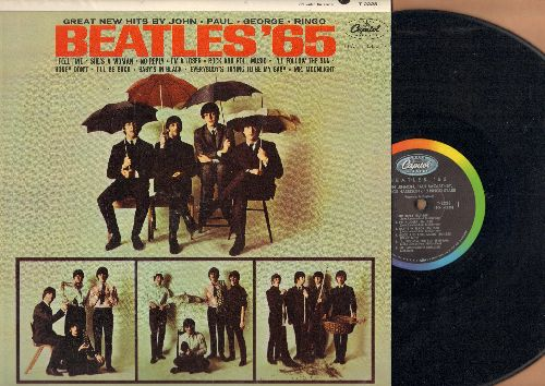 Beatles - Beatles '65: I Feel Fine, Rock And Roll Music, I'll Follow The Sun, No Reply (vinyl MONO LP record) - VG7/NM9 - LP Records