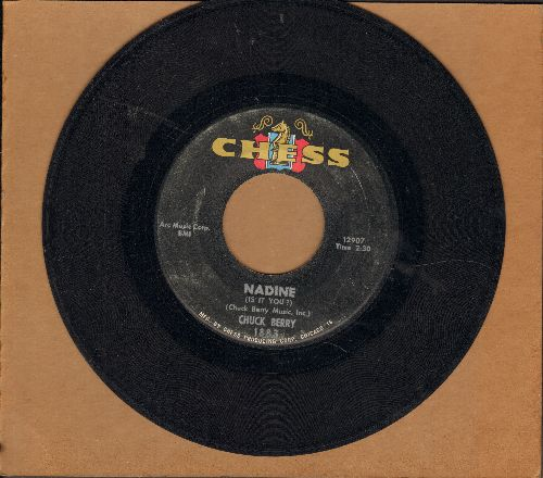 Berry, Chuck - Nadine/O Rangutang - VG7/ - 45 rpm Records