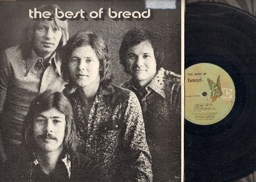 Bread - Best Of Bread: Everything I Own, If, It Don't Matter To Me, Make It With You (Vinyl STEREO LP record, gate-fold cover) - VG7/EX8 - LP Records