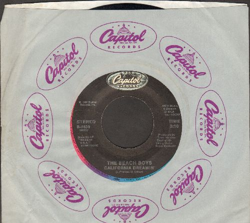 Beach Boys - California Dreamin'/Lady Liberty (with Capitol company sleeve) - EX8/ - 45 rpm Records