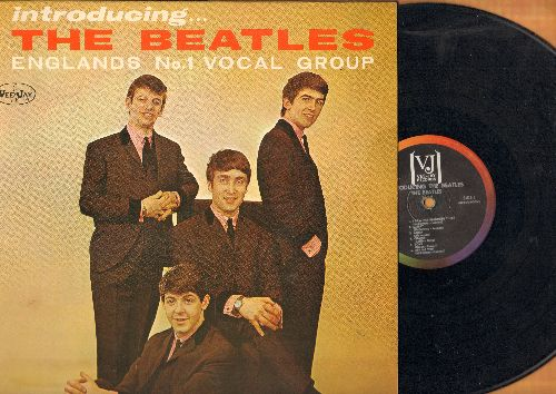 Beatles - Introducing The Beatles: I Saw Her Standing There, Twist And Shout, Do You Want To Know A Secret?, Please Please Me (vinyl MONO LP record, thick open brackets, rainbow circle label, Longplaying/Microgroove) - VG7/EX8 - LP Records