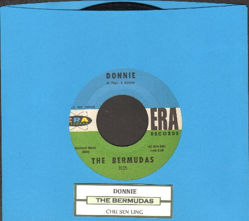 Bermudas - Donnie/Chu Sen Ling (with juke box label) - EX8/ - 45 rpm Records