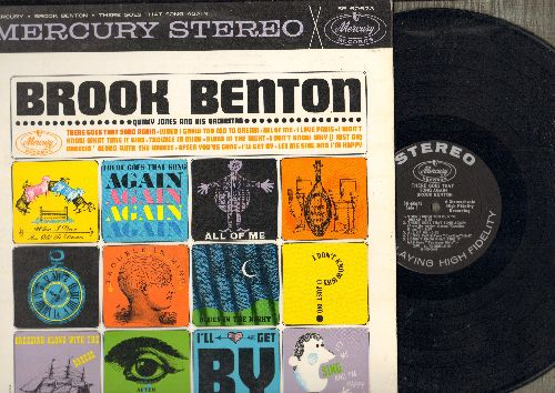 Benton, Brook - Brook Benton: When I Grow Too Old To Dream, All Of Me, I Love Paris, Let Me Sing And I'm Happy, Trouble In Mind (Vinyl STEREO LP record) - NM9/EX8 - LP Records