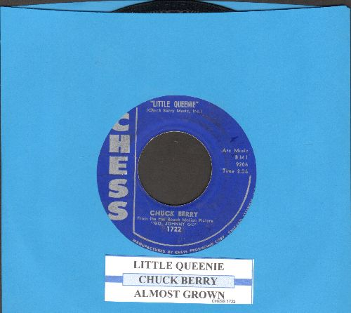 Berry, Chuck - Little Queenie/Almost Grown (with juke box label) - EX8/ - 45 rpm Records