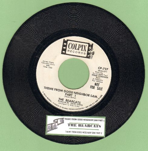 Bearcats - Theme From Good Neighbor Sam (Parts 1 + 2) (DJ advance pressing with juke box label) - EX8/ - 45 rpm Records