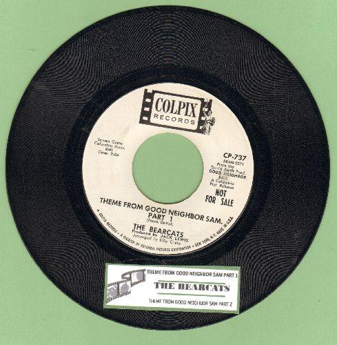 Bearcats - Theme From Good Neighbor Sam (Parts 1 + 2) (DJ advance pressing with juke box label) - EX8/ - 45 rpm Records