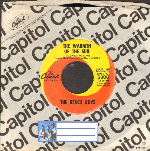 Beach Boys - Dance, Dance, Dance/The Warmth Of The Sun (with Capitol company sleeve) - EX8/ - 45 rpm Records