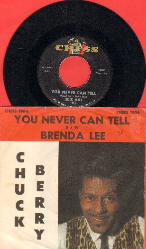 Berry, Chuck - You Never Can Tell (featured in Cult Classic -Pulp Fiction-)/Brenda Lee (with picture sleeve) - EX8/ - 45 rpm Records
