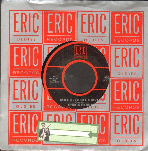Berry, Chuck - Roll Over Beethoven/Maybellene (re-issue with Eric company sleeve) - EX8/ - 45 rpm Records