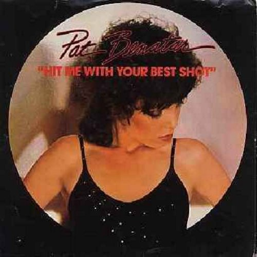 Benatar, Pat - Hit Me With Your Best Shot/Prisoner Of Love (with picture sleeve) - EX8/EX8 - 45 rpm Records