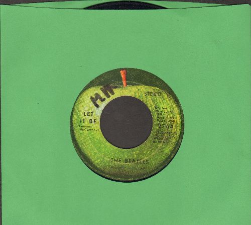 Beatles - Let It Be/You Know My Name Look Up My Number (wol) - VG7/ - 45 rpm Records