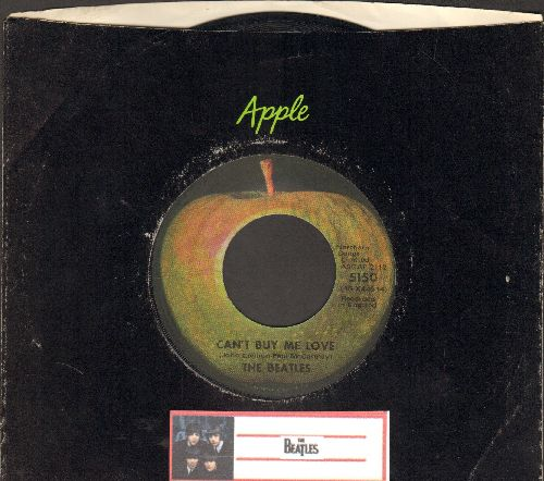 Beatles - Can't Buy Me Love/You Can't Do That (with Apple company sleeve) - EX8/ - 45 rpm Records