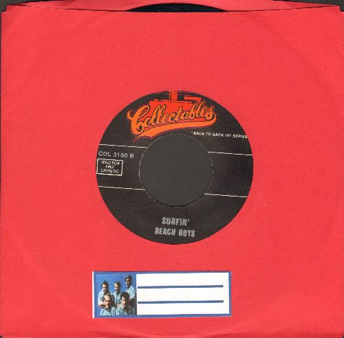 Beach Boys - Surfin' Safari/Laugh Laugh (by Beau Brummels on flip-side) (re-issue) - EX8/ - 45 rpm Records