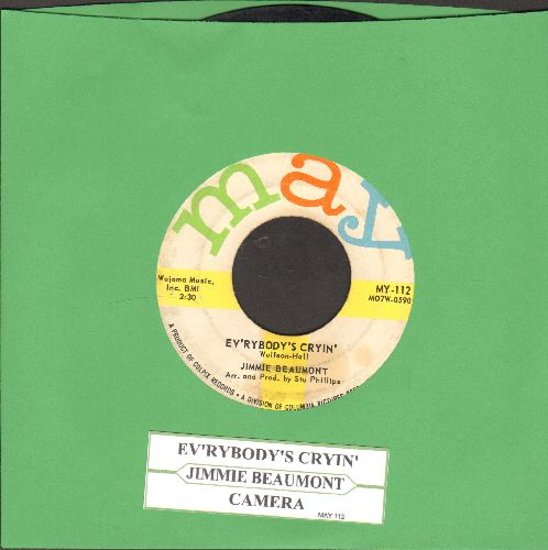 Beaumont, Jimmie - Ev'rybody's Cryin'/Camera (with juke box label) - VG7/ - 45 rpm Records