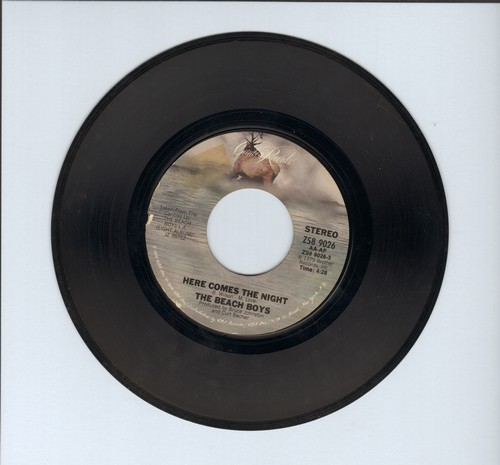 Beach Boys - Here Comes The Night/Baby Blue - EX8/ - 45 rpm Records