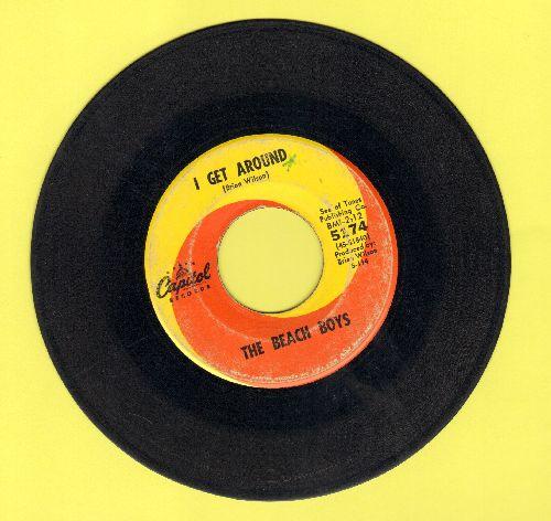Beach Boys - I Get Around/Don't Worry Baby - VG6/ - 45 rpm Records