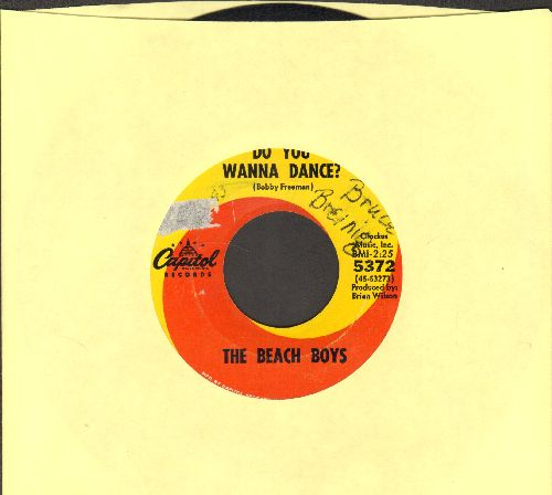 Beach Boys - Do You Wanna Dance?/Please Let Me Wonder - VG7/ - 45 rpm Records
