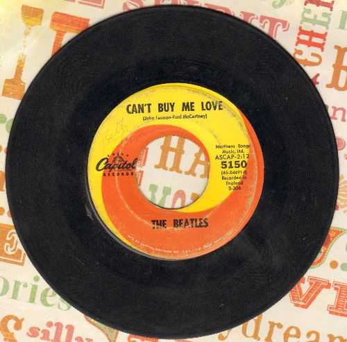 Beatles - Can't Buy Me Love/You Ca't Do That - G5/ - 45 rpm Records