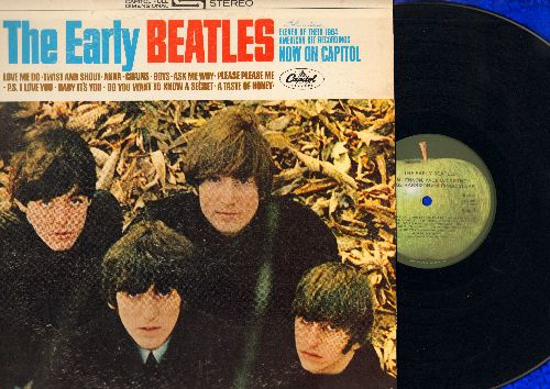 Beatles - The Early Beatles: Love Me Do, Twist And Shout, Boys, Please Please Me, Baby It's You, Do You Want To Know A Secret (Vinyl STEREO LP record) - VG7/VG6 - LP Records