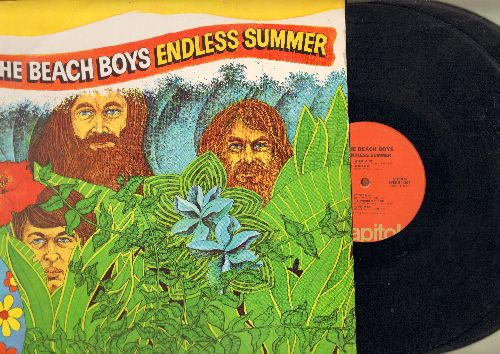 Beach Boys - Endless Summer: Surfin' Safari, Surfer Girl, I Get Around, California Girls, Surfin' U.S.A. (2 vinyl STEREO LP set, gate-fold cover) - EX8/EX8 - LP Records