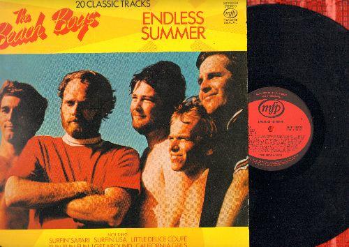 Beach Boys - Endless Summer - 20 Classic Tracks: Surfin' Safari, Surfin' USA, I Get Around, California Girls, Help Me Rhonda, Surfer Girl (vinyl STEREO LP record, British Pressing) - EX8/EX8 - LP Records