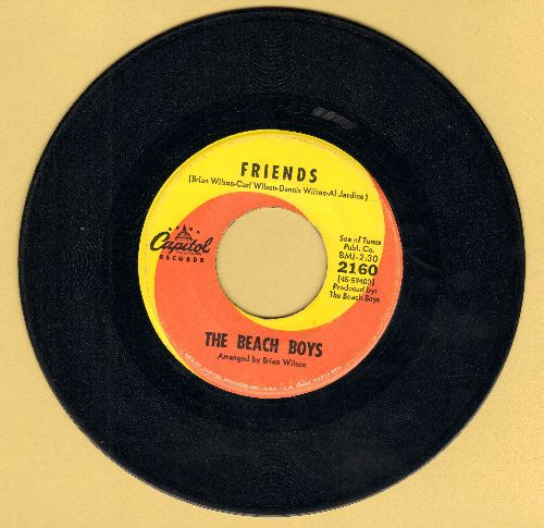 Beach Boys - Friends/Little Bird  - VG7/ - 45 rpm Records