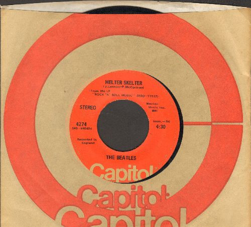Beatles - Helter Skelter/Got To Get You Into My Life (with Capitol company sleeve, wol) - VG6/ - 45 rpm Records