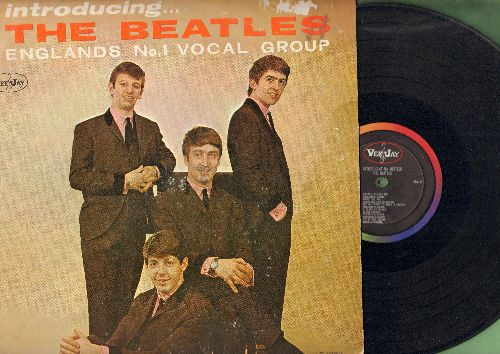 Beatles - Introducing The Beatles: I Saw Her Standing There, Twist And Shout, Do You Want To Know A Secret?, Please Please Me (vinyl MONO LP record, thick open brackets, rainbow circle label, Longplaying/Microgroove) - VG6/VG6 - LP Records