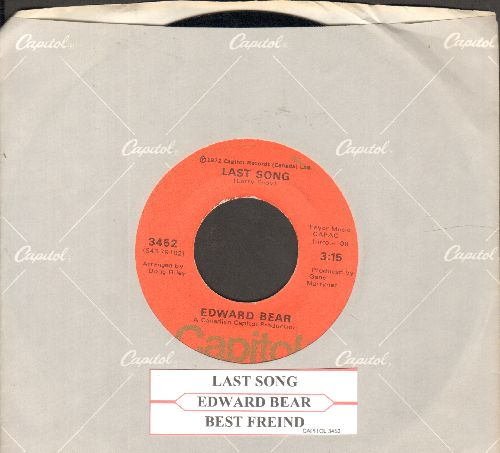 Bear, Edward - Last Song/Best Friend (with juke box label and company sleeve) - NM9/ - 45 rpm Records