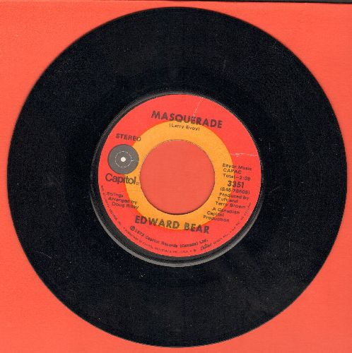 Bear, Edward - Masquerade/Pirate King - NM9/ - 45 rpm Records