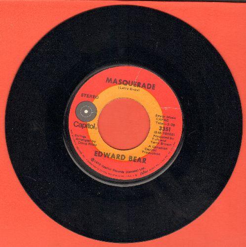 Bear, Edward - Masquerade/Pirate King - NM9/ - 45 rpm Records